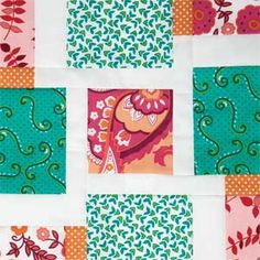 Block Builders Workshop: FREE Quilting Video/Partial Seams. The Spin Dance Block is patterned in McCall's Quilting March/April 2014
