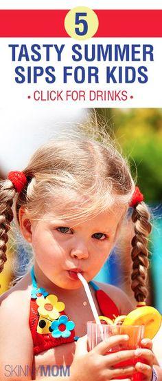 5 Tasty Summer Sips For Kids!!