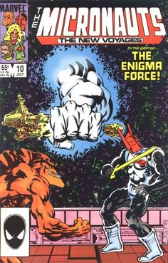 Micronauts: The New Voyages # 10 by Kelley Jones