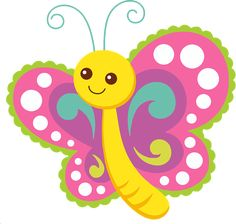 Cute Cartoon Butterfly derived from an image on Pixabay. Cartoon Butterfly, Butterfly Clip Art, Butterfly Drawing, Butterfly Party, Cute Butterfly, Clipart Png, Cute Clipart, Child Draw, Diy And Crafts