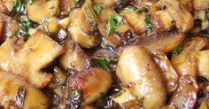 Roasted Garlic & Herb Mushroom Medley | Recipe | Garlic mushrooms, Mushroom casserole and Roasted garlic