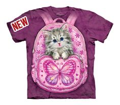 Backpack Kitty « Epic Shirts  I lost a bet with three friends and as you probably can figure out the loser had to wear this shirt friday and saturday night out – no jacket, cardigan whatsoever. Anyways, I had one of the best weekends as this shirt literally attracted a loooot of women who thought this was the cutest. It has become my lucky charm and I wear even without having lost any bets  !