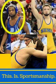 Amazing sportsmanship story! This wrestler wanted to win state for his dying dad, but it's what his opponent did after losing that WOWED the crowd!