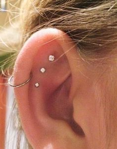 Cool girl ear piercing ideas for low-key ladies