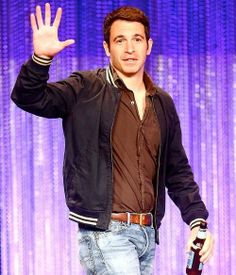 Chris Messina at Paleyfest 2014 for The Mindy Project Chris Messina, The Mindy Project, Mindy Kaling, Messi Messi, Bomber Jacket, Celebs, Snack Bar, Actors, My Love
