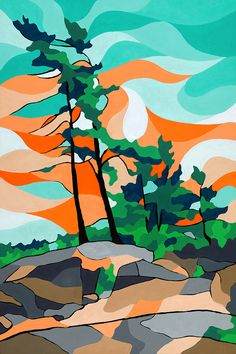 "Original landscape artwork by Canadian artist Jonathan Munz - AKA ""Munzy"" Affordable local art shipped directly to your door. Canadian Art, Canvas Art Prints, Canadian Artists, Painting, Blue Art, Canvas Art For Sale, Art, Canvas Art, Canvas Art Painting"