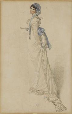Unknown Publication, 1809, From the Bibliothèque des Arts Décoratifs via SceneInThePast flickr.