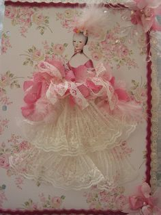Marie in Pink & Lace Page by mylulabelles, via Flickr