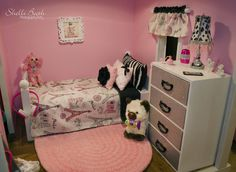 American Girl Doll Paris themed Bedrooms ~Shelli Booth Photography/Art Copyright © 2015