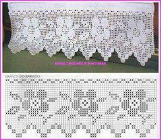 How to Crochet Wave Fan Edging Border Stitch Crochet Lace Edging, Crochet Borders, Crochet Stitches Patterns, Lace Patterns, Thread Crochet, Love Crochet, Beautiful Crochet, Crochet Designs, Crochet Doilies
