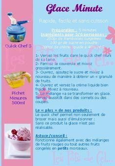 """La Glace """"minute"""" à la Framboise"""