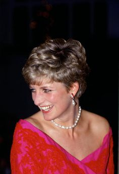 Diana Princess of Wales President of the Royal Marsden Hospital attending the 'Joy to the World' concert at the Royal Albert Hall, December 17, 1991.