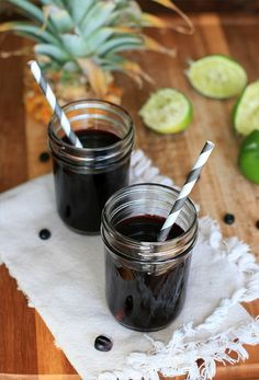 Chicha Morada, I fell in love with you in the mountains of Peru. Your sweet purple juice has followed me home.   Purple corn, pineapple, lime, who could ask for anything more.