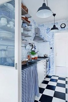 Cool Rustic Scandinavian Kitchen Decor