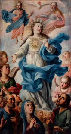 Rediscover Mexican colonial art at a huge LACMA exhibition Virgin Mary Art, Blessed Virgin Mary, Religious Paintings, Religious Art, Jesus Mary And Joseph, Colonial Art, Baroque Painting, Mother Pictures, Christian Artwork