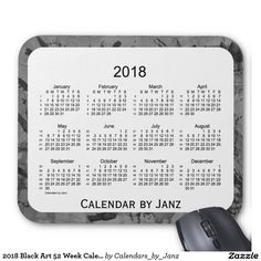 2018 Teal Diamonds 52 Weeks Calendar by Janz Mouse Pad What Makes You Happy, Are You Happy, January February March April, Weekly Calendar, 52 Weeks, Presents For Him, Make You Smile, Customized Gifts, Keep It Cleaner