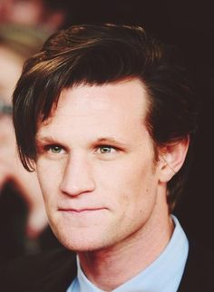 He's so cute. So cute. Forever adorable. Cuteness. Sheer beauty. So adorably precious. I love you, Matt Smith❤❤❤