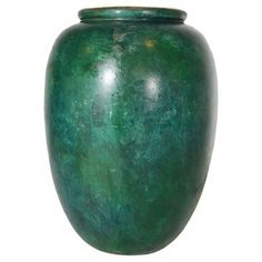 Check out this item at One Kings Lane! Thai Verdigris Bronze Urn