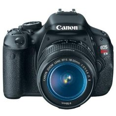 Photographers of all skill levels would love to own a CANON EOS Rebel DSLR Camera. Enter for your chance to win a Canon EOS Rebel giveaway. Nikon D5200, Cameras Nikon, Canon Dslr Camera, Camera Lens, Camera Hacks, Camera Sale, Camera Rig, Leica Camera, Camera Phone