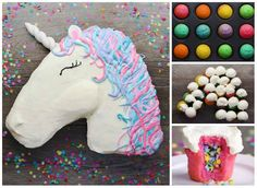 Unicorn Cupcake Cake These Are The Best Pull Apart Cake