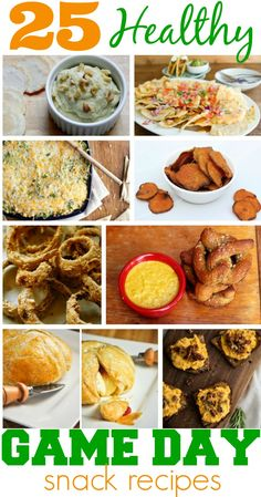 25 Healthy Game Day Recipes for your Superbowl Party | The Coupon Project