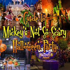 Guide to Mickey's Not So Scary Halloween Party in 2016