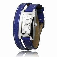 #Montre bracelet double tour mécanisme garanti 2 ans boitier sans nickel différents coloris de bracelet disponibles 45€ sur http://www.loaven.fr/fr/product/montres/montres/1516-1,bleu+electrique,montre-femme-double-tour-cuir.html