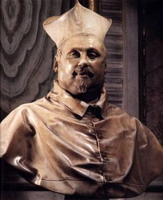 Bernini, Bust of Cardinal Scipione Borghese, 1632