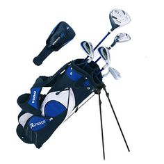 Winfield Junior Force Kids Golf Clubs Set / Ages 9-12 Blue / Left-Hand at http://suliaszone.com/winfield-junior-force-kids-golf-clubs-set-ages-9-12-blue-left-hand/