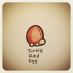 Turtle Red Egg #turtleadayjuly - @turtlewayne- #webstagram