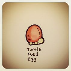 Turtle Red Egg #turtleadayjuly - @turtlewayne- #webstagram