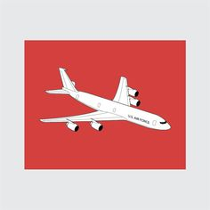 Airplane Art Print, 8x10 PRINTABLE, Boeing KCE-3, Instant Download, Digital