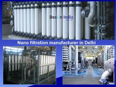 The Nano filtration manufacturer in Delhi. We are using advanced technology to filter contaminated water.