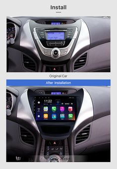Seicane 9 inch 2011 2012 2013 Hyundai Elantra Radio Replacement with Aftermarket Car Bluetooth GPS System Multi-touch Capacitive Screen WiFi Mirror Link AUX HD Video DVR Elantra Car, New Hyundai, Hyundai Veloster, Mirror Link, Tv Tuner, Hyundai Accent, Digital Tv, Car Bluetooth, Autos