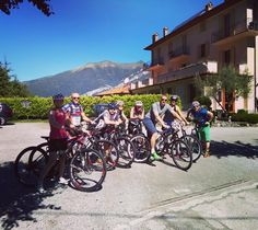Instagram picutre by @comolagobike: What a fantastic group of Swedish #cyclists we had at il Perlo today! They took out 8 of our bikes some #MTB and some #ebike ! And their ride plan? #Ghisallo and #murodisormano !  #bikeride #biketour #biketouring #bellagio #lakecomo #lagodicomo #comolagobike #cyclingitaly #igerscycling #igersitaly #igersitalia #exploreitaly #bikers #stravacycling #lakecomoitaly #italybikehotels #cyclingholiday - Shop E-Bikes at ElectricBikeCity.com (Use coupon PINTEREST…