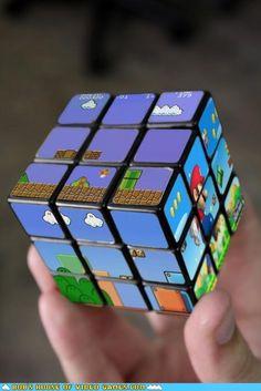 Mario rubiks cube