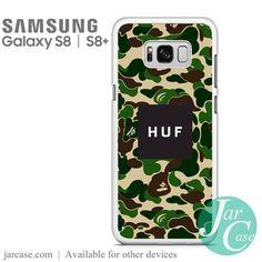 HUF Camo Phone Case for Samsung Galaxy S8 & S8 Plus