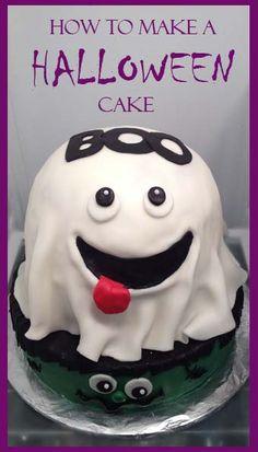 How to make a Halloween Cake @Lisa Phillips-Barton Gurrola @Patty Markison Polhemus @Yessenia Flores