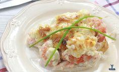 Receta Merluza rellena de Marisco y Mayonesa Ybarra - Ybarra en tu cocina