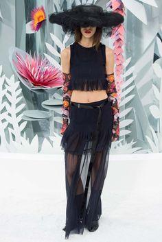 Chanel Spring 2015 Couture Fashion Show - Antonina Petkovic (Elite)