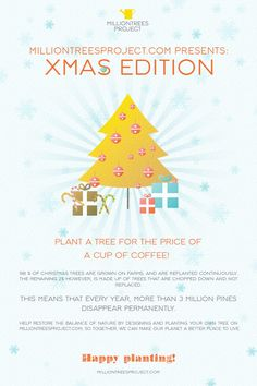 Our Xmas Promotion is on so let's come and check out @ www.milliontreesproject.com