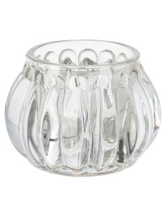 This pretty Tealight Candle Holder features an all-over ridge detail and will be an on-trend addition to your home decor.