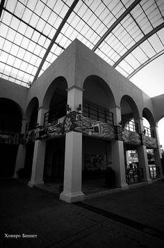 Anexo del Palacio Municipal de Coatzacoalcos Veracruz. Lente Voigtlander F5.6 / 12mm