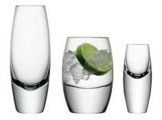 LSA Bullet Glassware Collection. Love LSA glassware.