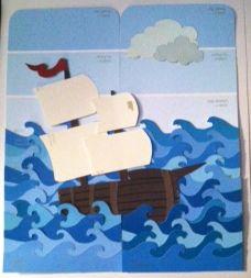 Paint Sample Ship Art