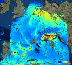 New Sentinel satellite tracks dirty air. It's been working less than a month but already the UK-Dutch-built Sentinel-5P satellite is returning spectacular new views of Earth's atmosphere.  The spacecraft was designed to make daily global maps of the gases and particles that pollute the air.
