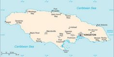Use Caribbean Maps to See Where Your Cruise Is Going: Caribbean Cruise Maps - Jamaica