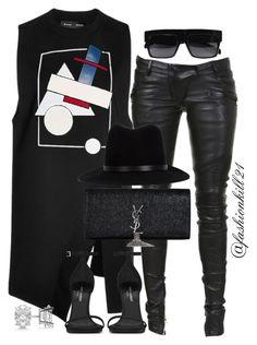 """Stylish"" by fashionkill21 ❤ liked on Polyvore featuring Proenza Schouler, Yves Saint Laurent, Allurez, Balmain, rag & bone, women's clothing, women's fashion, women, female and woman"