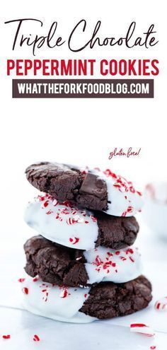 These gluten free chocolate peppermint cookies are so good and so easy to make! This recipe is perfect for any chocolate lovers that are ready to start spreading that Christmas cheer. These cookies are amazingly chocolate-y and gluten free, all while tasting like Christmas magic itself. Let the soft, gooey chocolate and refreshing peppermint warm your heart (and your belly) as we near the holly jolly season!