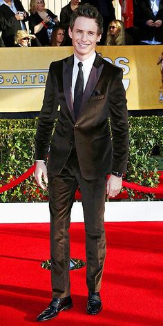 Eddie Redmayne, Screen Actors Guild Awards 2013